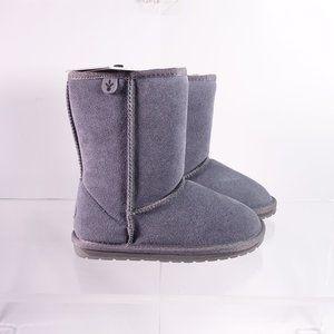 NEW EMU Australia Wallaby Lo Shearling Boots Grey
